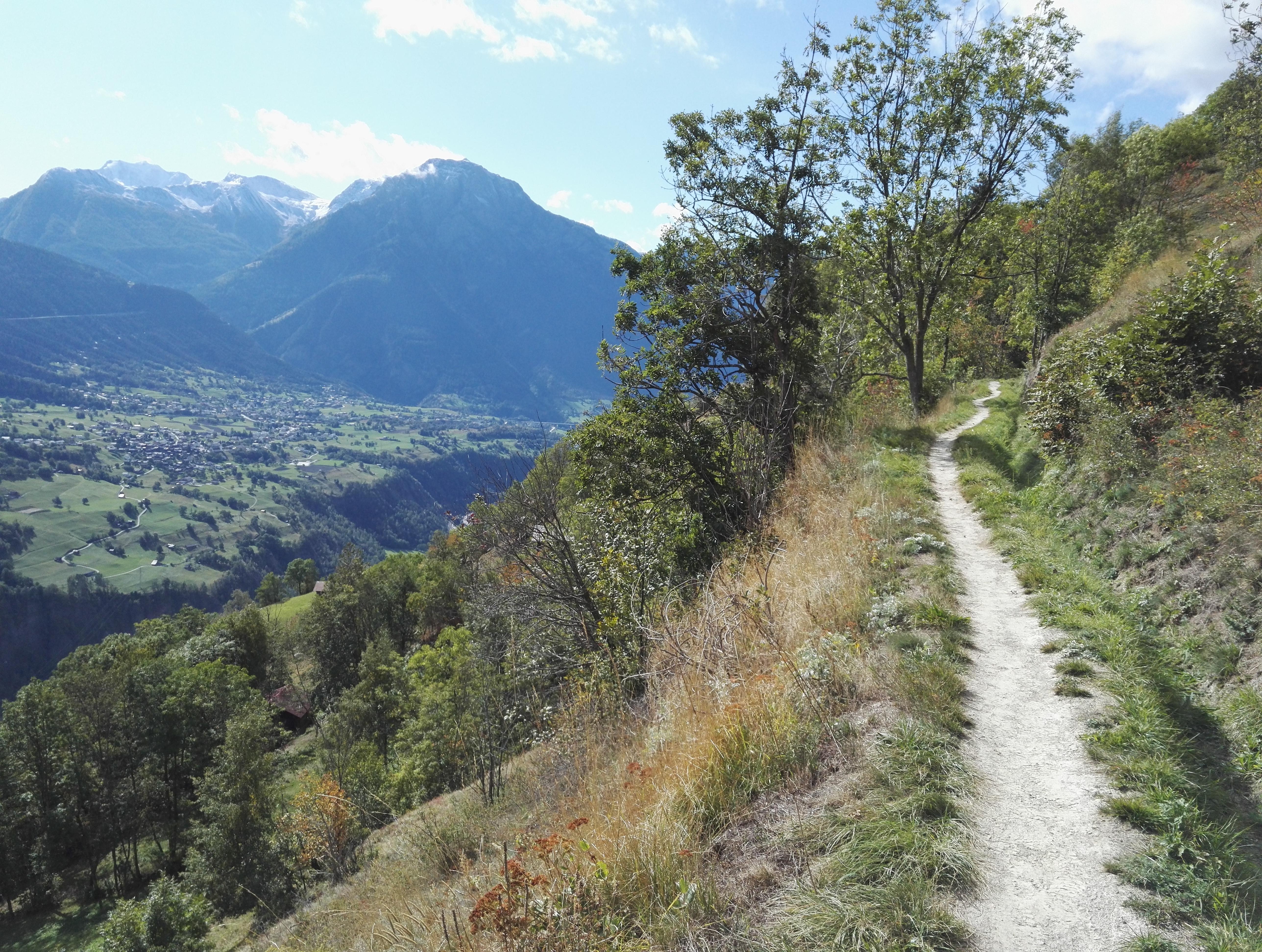 Höhenweg Ried Mörel
