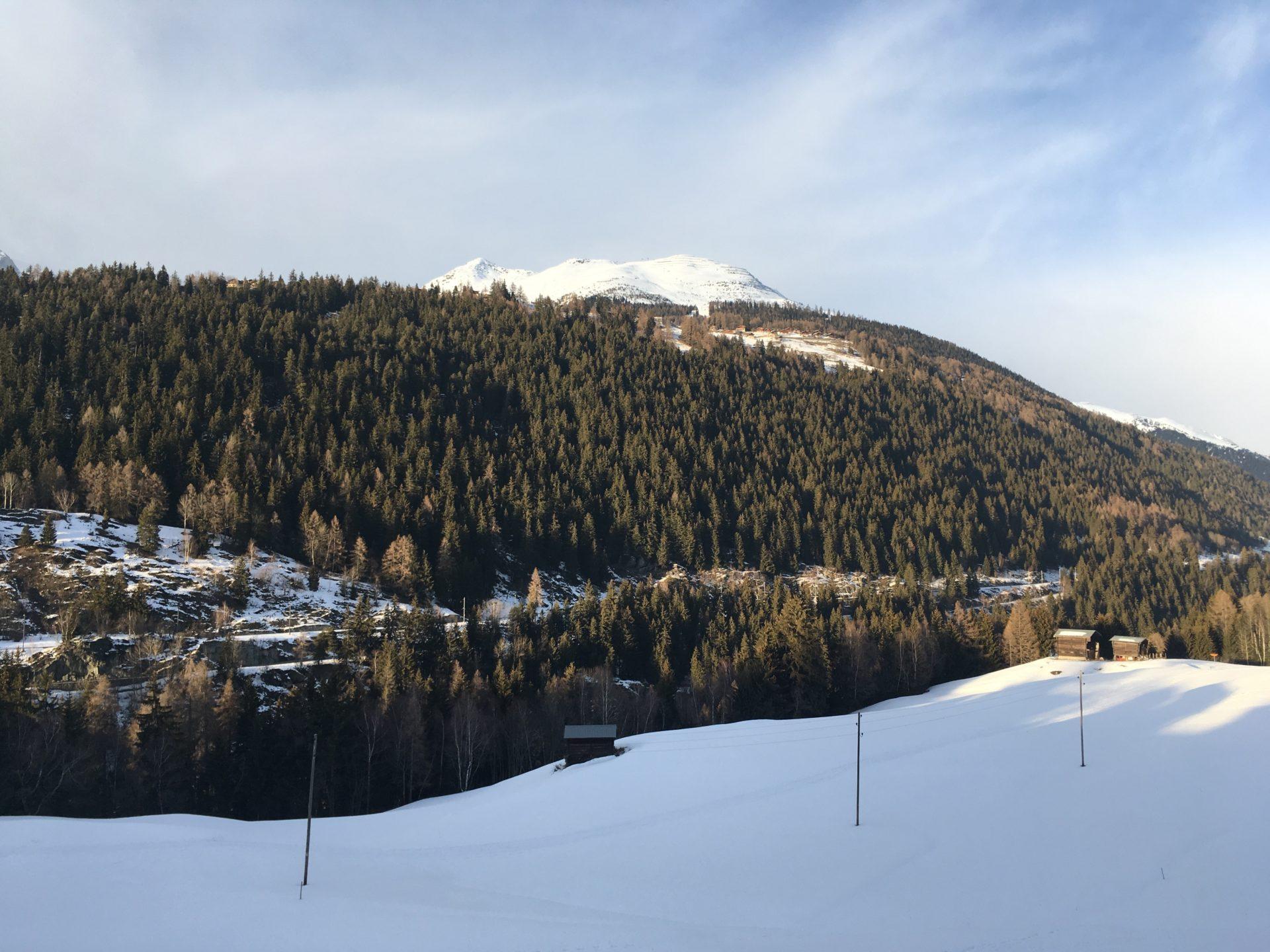 Blick nach Bellwald